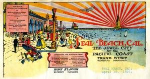 Seal Beach letter head - 1916