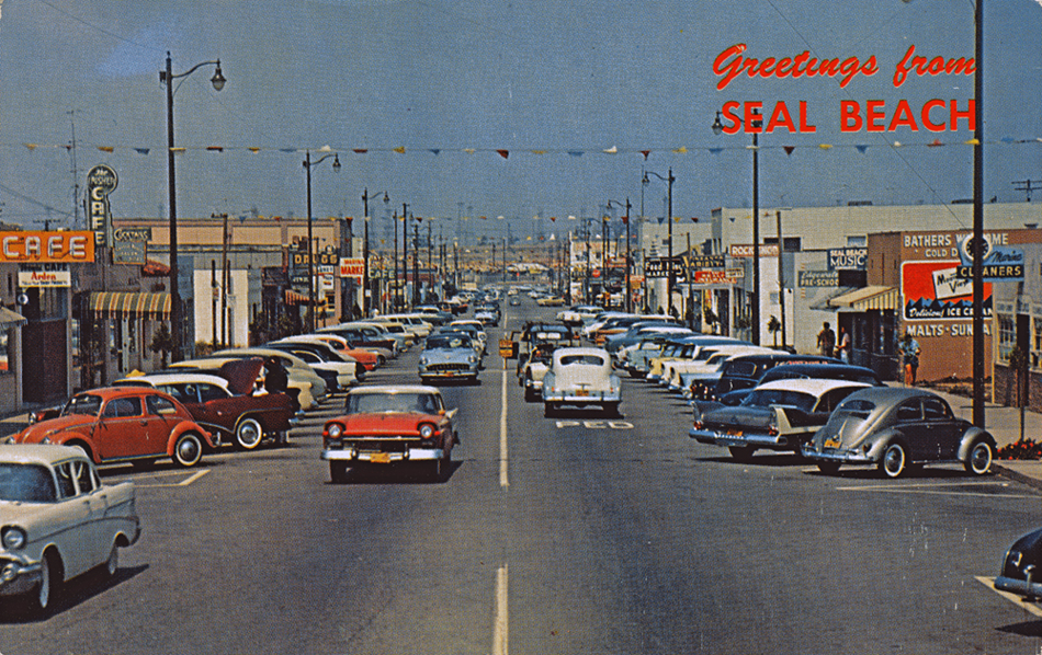 Greetings From Seal Beach This Date In Seal Beach History - Seal beach car show