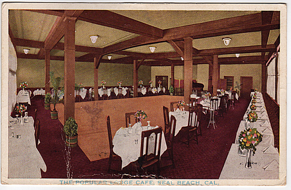 The Lodge Cafe's dining room