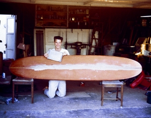 Stringer glued - ready to shape # 1 harbour