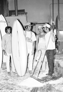 Workers at the cCosta Mesa Sattelite shape facility