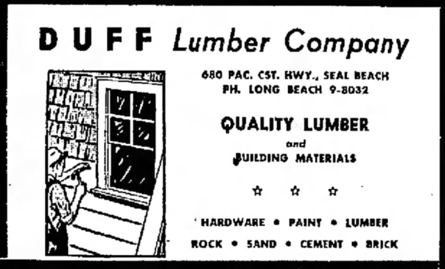 May_7_1950_Duff's Lumber_Yard_ad
