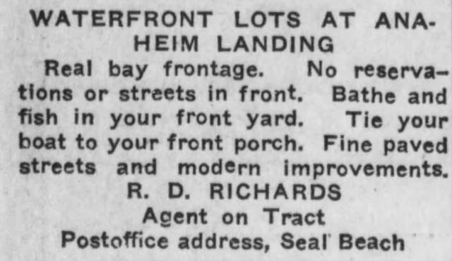 July_29_1921_Anaheim_Landing_RE_ad