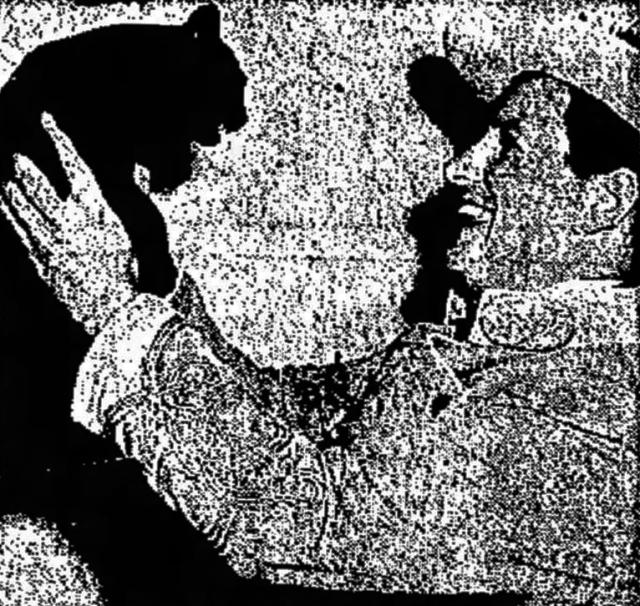Gregarious as Rosemary with Salvatore Mungo as Kreton