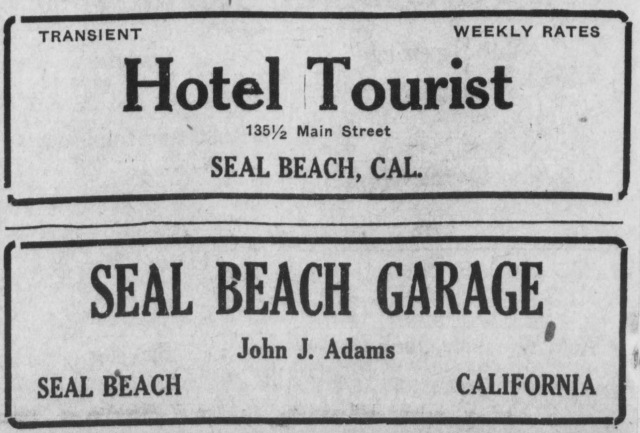 Aug_9_1918_Hotel_Tourist_Ad__amp__Seal_Beach_Garage_ad