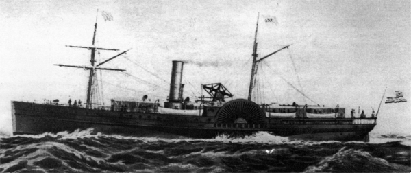 The Orizabo, Sister Ship to the Mohongo